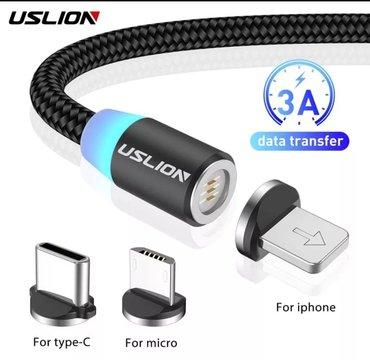 Quick fast charge Magnitli usb type c kabel 3.0 USLION 3A кабель для