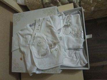 Детский турецкий набор,8 в1. в красивой коробке,на выписку