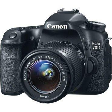 Canon EOS 70D.◇Online mağaza.◇Yeni.◇Zəmanətli.◇Çatdirilma