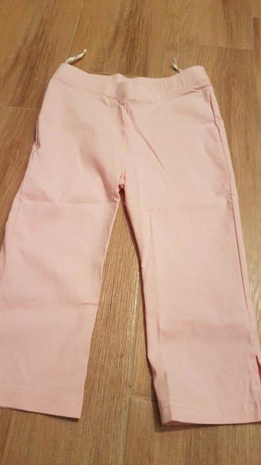 Zenski tricetvrt - Srbija: Nove. tricetvrt pantalone sa elastinom za devojcice,br.134, iz Nemacke