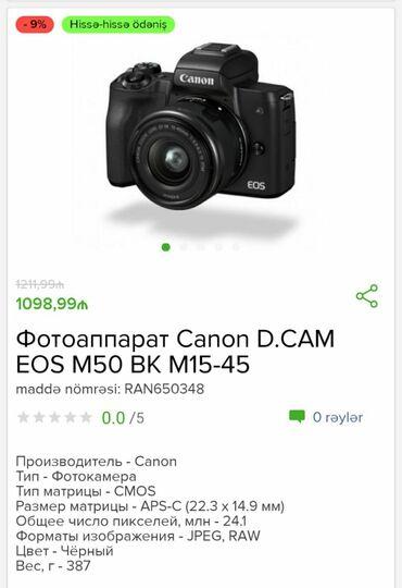 canon fotoaparat - Azərbaycan: Fotoaparat CanonNegd alisda endirmdeKredtle varSifariş üçün wp yazın