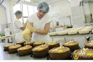 tort ustasi - Azərbaycan: Shirniyyat ustasi, tort ustasi ve komekciler teleb olunur. ish qrafiki