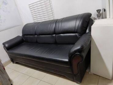 Кожаный диван. В идеальном состоянии срочно продам!