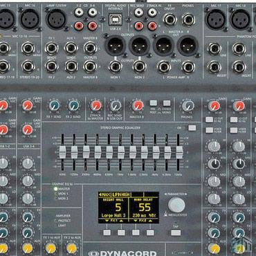 Dinakord 22 kanal.PM2200 aktiv mikşer .Almaniya istehsalı original в Bakı