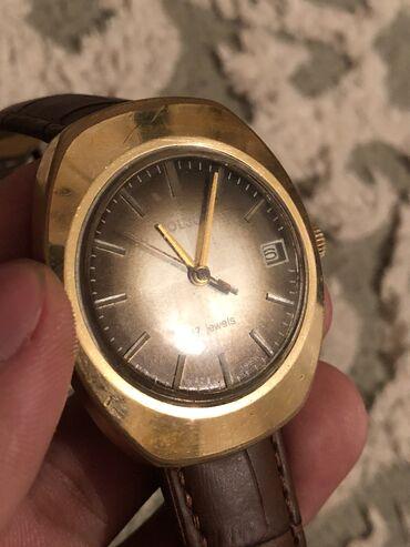Золотистые Мужские Наручные часы Poljot International