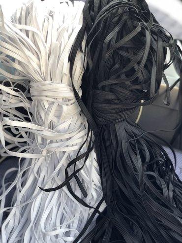 Деревянные игрушки оптом от производителя - Кыргызстан: Резинка для масок 2.5сом за 1метр только опт