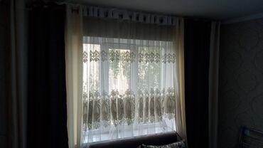 Продаю шторы занавески вместе с гардиной  Размер 3.30 высота 2.70 м