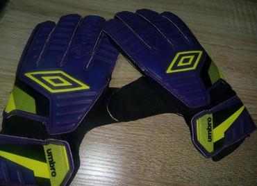 Golmanske rukavice Umbro, veličina 10. Nove, nisu korišćene - Stara Pazova - slika 3