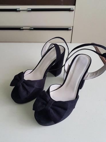 Ženska obuća   Vrbas: Anna Field sandale, obuvene jednom za maturu. Visina štikle 10cm. Broj