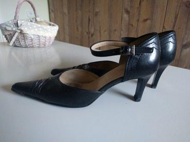 Crne kožne cipele br 37 - Palic