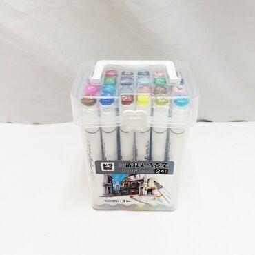 Набор двухсторонних маркеров - крутой комплект в коробке для