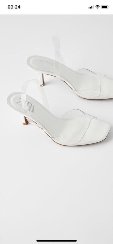 Zara stikle sandale. Nove-dva puta upotrebljene za slikanje. Zara - Knic