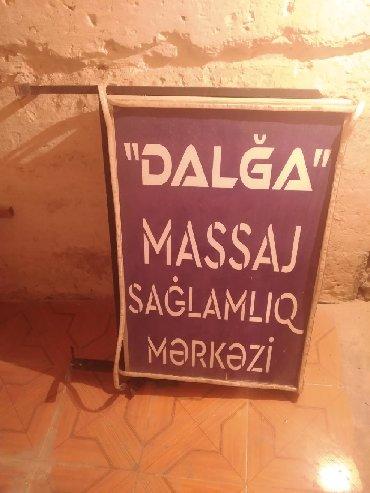 masaj-masasi - Azərbaycan: Reklam Masaj işiqli reklam şiti satılır