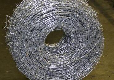Проволока стальная гладкая, рифленная, колючая, сварочная и