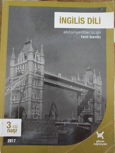 Ingilis dili, test bankı. Içi yazılmayıb