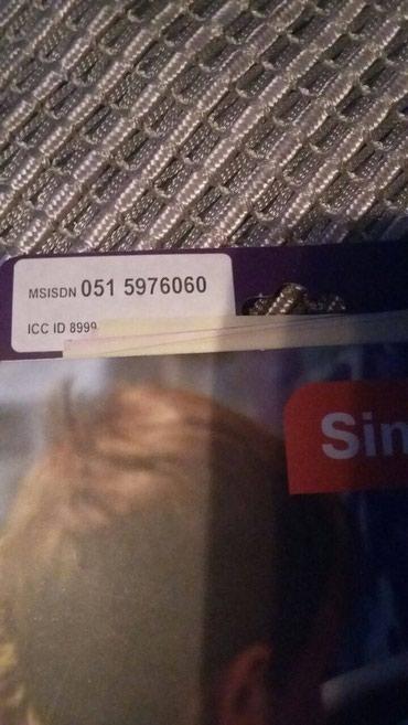 Bakı şəhərində Azercell 051 5976060-yeni paketdir, birbaşa müştərinin adına
