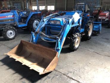Продается надежный японский мини трактор ISEKI TA215F. Оснащен 3х