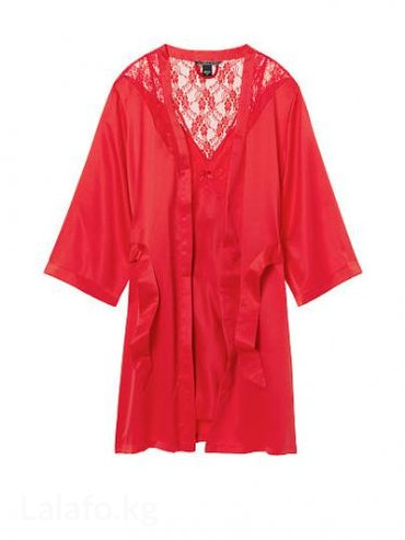 cherry 2010 в Кыргызстан: Victoria's secret slip & robe set. Халатик и сорочка. Размер s