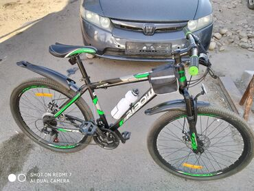 Срочно!!! продаю велосипед идеальном состоянии. Масло велосипед.видно