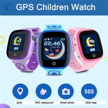 детские флисовые комбинезоны в Азербайджан: Smart Watch DF31G (su keçirməyən) / Ağıllı uşaq saatları su keçirtməz