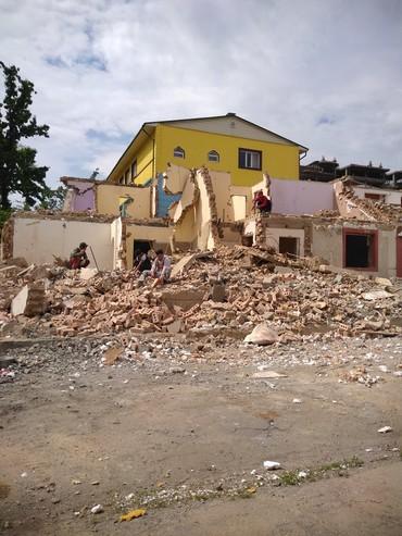 строй мат в Кыргызстан: Засыпка строй мусор