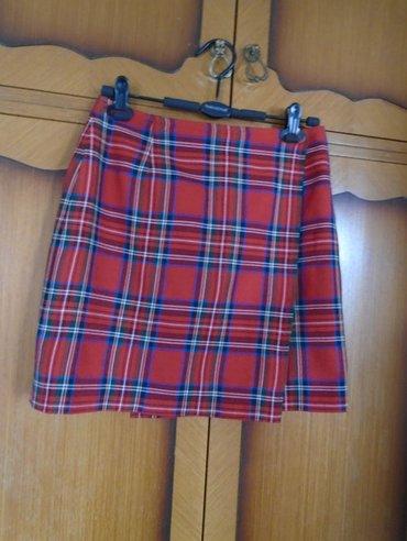 Prelepa, uvek moderna i atraktivna, mini, škotska suknjica, na - Beograd