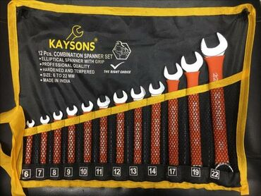 Alət dəstləri - Azərbaycan: Kaysons 12pcs parça6mm-22mm kimi açar dəstiYenidir Ünvan xalqlar