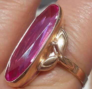 Золотое кольцо 585° вес 7,42г. Отличное сост