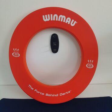 Branje malina - Srbija: Okvir za Pikado Metu Dartboard Surround Winmau Original CrvenVeoma