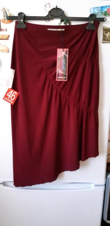 юбка-новая в Азербайджан: Новая юбка. Ассиметричная. Ткань приятная. Цвет бургунд. размер М-L