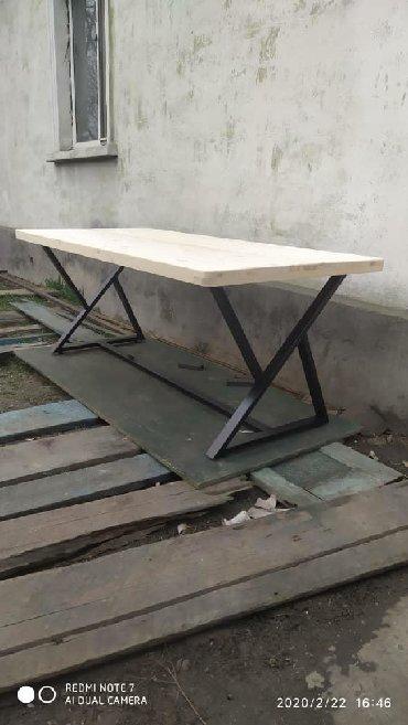 стол большой для дома в Кыргызстан: Стол  Кухонный Стол для кафе Стол в стиле лофт