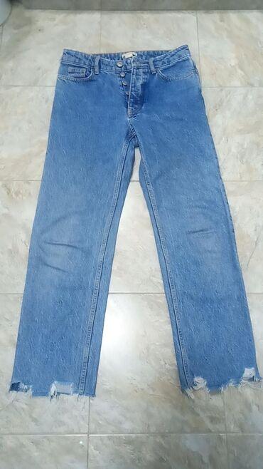 Фирменные джинсы hm, в отличном состоянии, турецкие,размер 36, там за