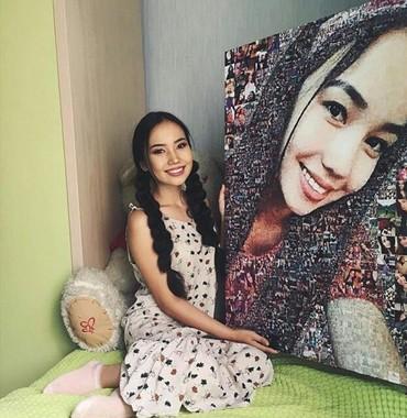 что подарить девушке на др в Кыргызстан: Фотомозайка - яркий подарок для любимой девушки ❤ Фотомозайка - это ка
