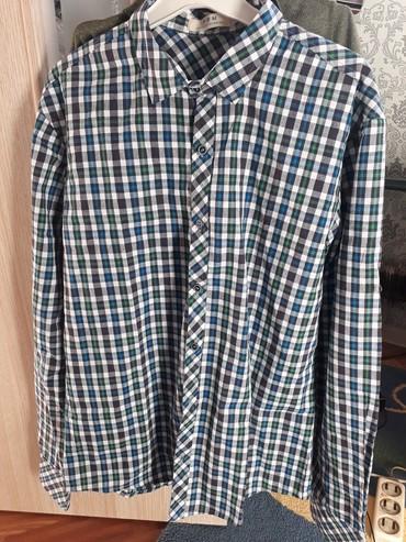 Мужская рубашка 50размер сост новое 400 в Бишкек
