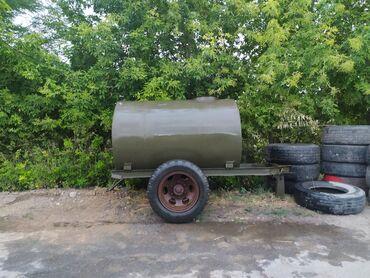 sambovka green hill в Кыргызстан: Продаю цистерну на платформе. ПрицепСостояние новой, стояла с дизелем