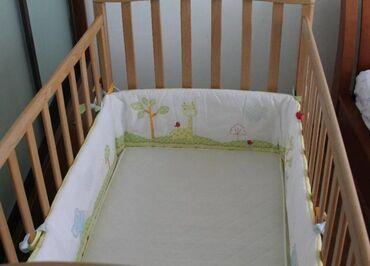 Защитные бамперы MotherCare на кроватку в идеальном состоянии. Модель