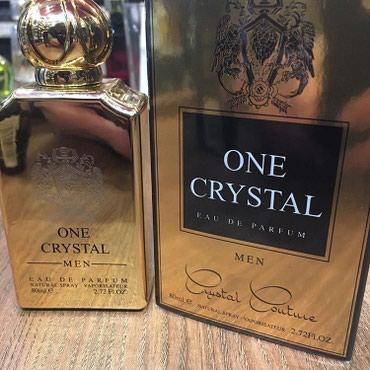 Bakı şəhərində One Crystal Eau De Parfum for Men Natural Sprey by FA. Qiyməti