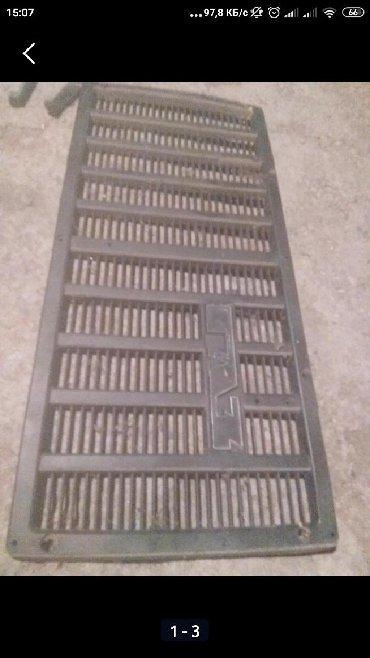 Автозапчасти - Каинды: Решетка радиатора от ГАЗ 53 буратино от квадратной кабины. В хорошем