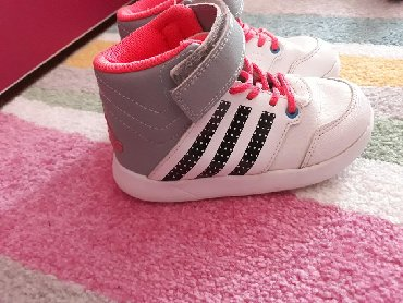Adidas-patikice-kozne - Srbija: Adidas dublje patikice za devojcice,vel.26.Koriscene,bez
