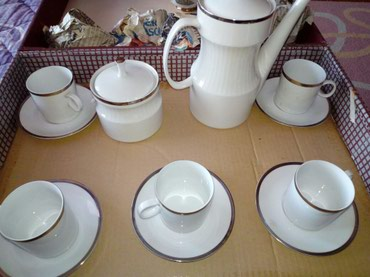 Porcelanski set za kafu Jaroslav Ježek. Kupljen u Čehoslovačkoj - Belgrade