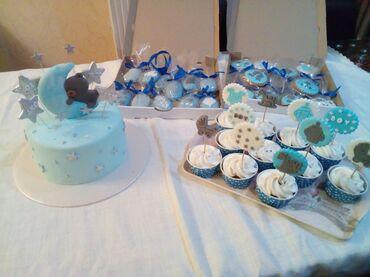 Tort cupcake sirniyyatlar sifarisi