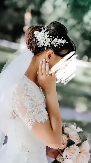свадебное украшения в Кыргызстан: СВАДЕБНОЕ УКРАШЕНИЕ на голову!Очень красивое !!!!2 штуки одевать можно