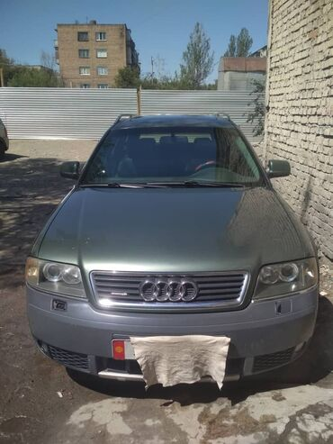 Автомобили в Бишкек: Audi A6 Allroad Quattro 2.7 л. 2000