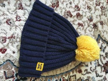 Девочки шапка вязаная, теплая под в Бишкек