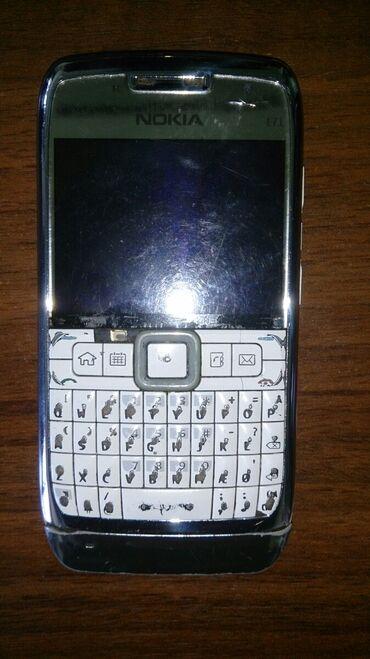 Salam aleykum, Nokia e 71, 2009 modeli satilir, veziyyeti ekranda