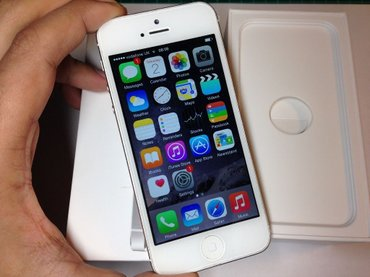 iPhone 5s  white 16 gb в Душанбе