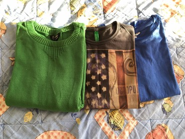 Pamucnih-majica - Srbija: Dzemper,majica kratkih rukava i majica dugih rukava u paketu