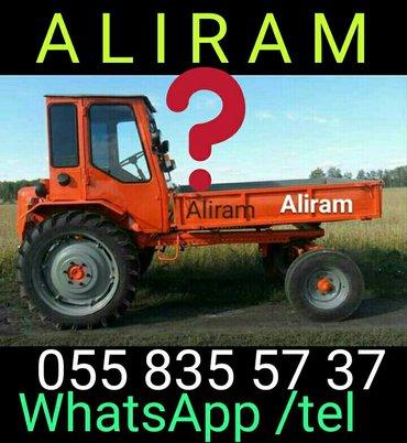 Salyan şəhərində Aliram, hər növ Traktor olar. İşlək olmasada olar...