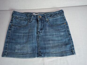 Suknja - Srbija: Mini teksas suknja, veličine XS