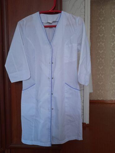 махровые халаты бишкек in Кыргызстан   ДОМАШНИЕ КОСТЮМЫ: Медицинский халат в отличном состоянии размер 42 44